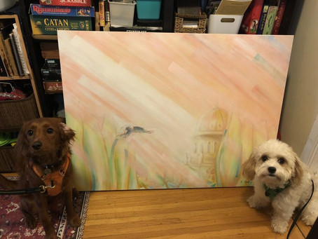 Paintings and Puppies