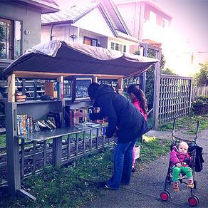 Outdoor Lending Library