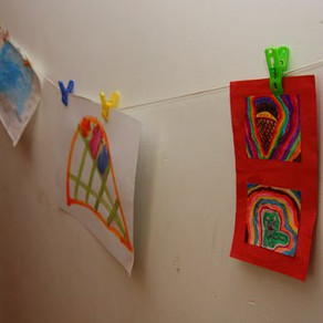 Displaying Children's Art
