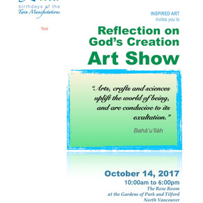 Art Show Today in North Vancouver!