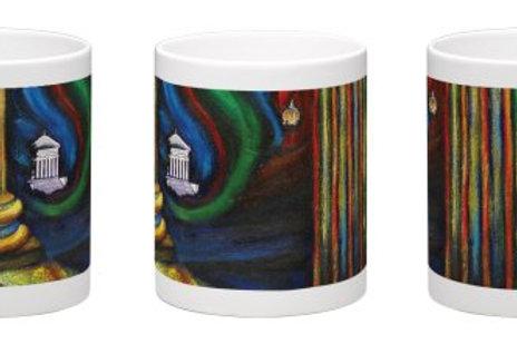 Night View of the Arc Coffee Mug - 11oz Ceramic