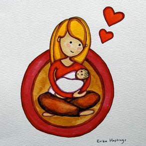 Baby Love – Painting
