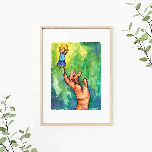 Finding Balance Canvas & Art Prints
