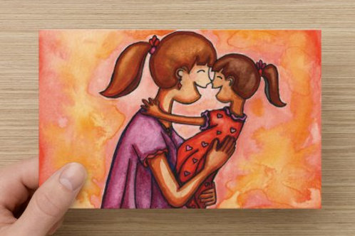 Mama Hugs Greeting Card