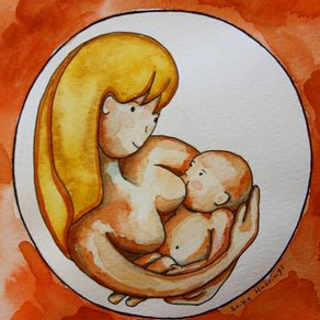 Breastfeeding – Painting