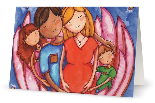 Peaceful Pregnancy Greeting Card