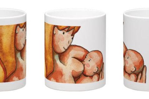 Breastfeeding Coffee Mug - 11oz Ceramic