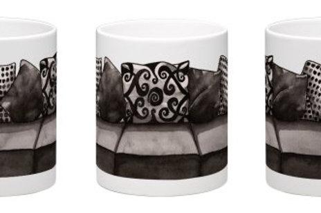 If My House Were a Couch Coffee Mug - 11oz Ceramic