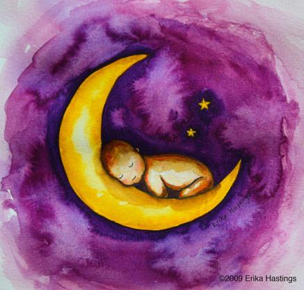 Sleeping-Baby-Painting