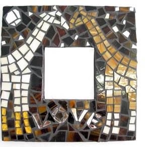 Photo Tutorial: Stained glass giraffe mosaic