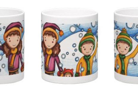 It's Snowing! Coffee Mug - 11oz Ceramic