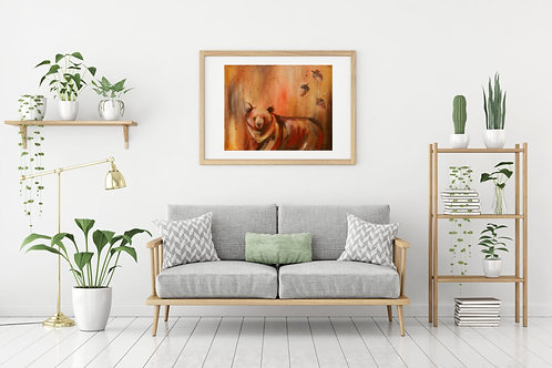 Dancing in Red Fine Art & Canvas Prints