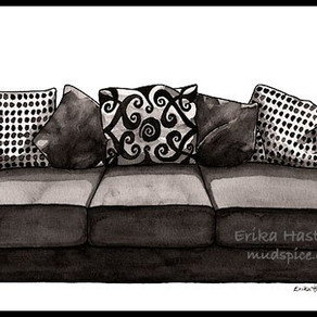 If My House Were a Couch – Painting