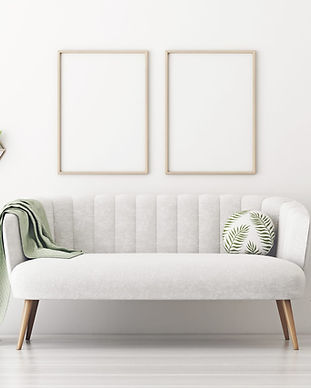 White Living Room 2 Vertical Posters 2.j