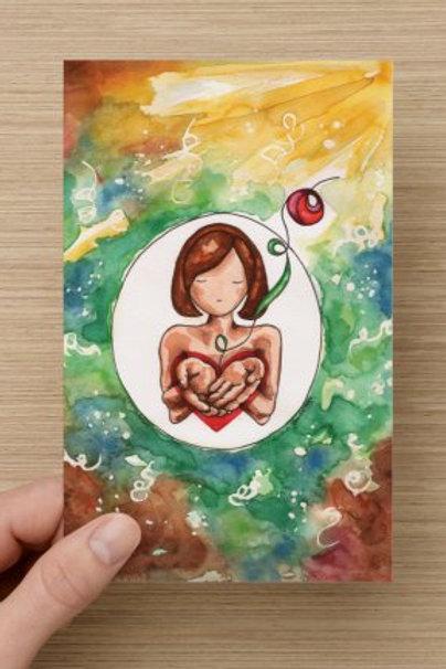 Garden of God Greeting Card