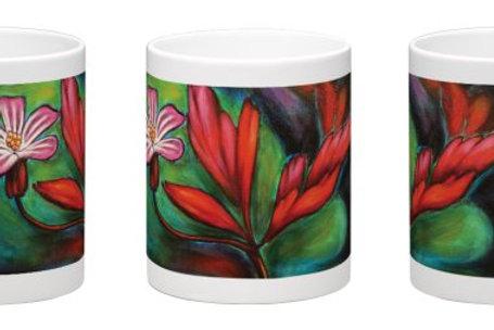 Red Wings Coffee Mug - 11oz Ceramic