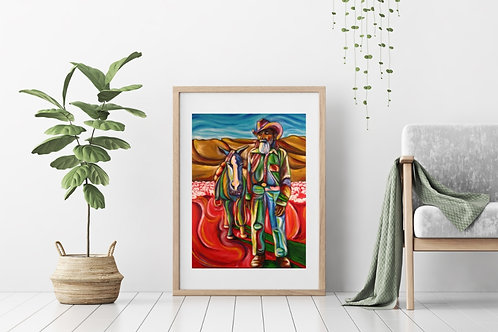 Mexican Cowboy Fine Art & Canvas Prints