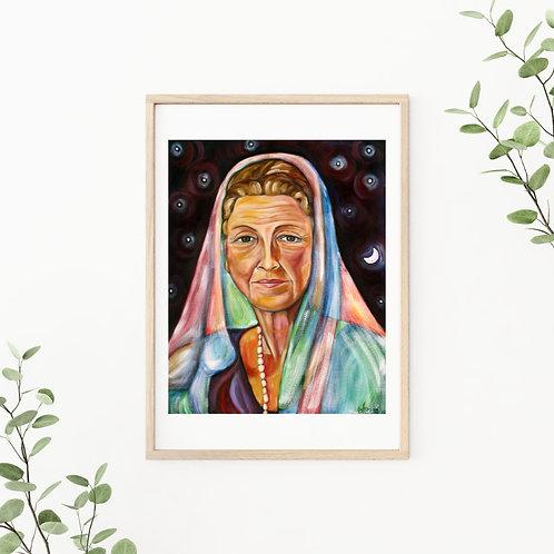 Ruhiyyih Khanum Canvas & Art Prints