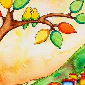 Love Birds – Painting