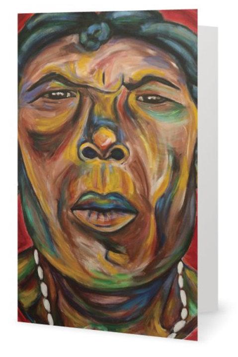 Garifuna Grandmother Card