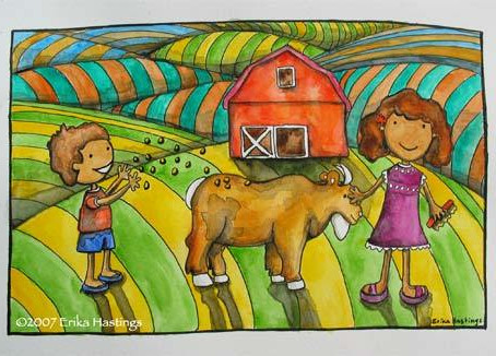 Petting Zoo –  Painting