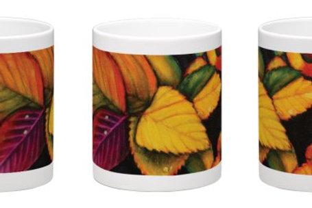 Raindrops Coffee Mug - 11oz Ceramic