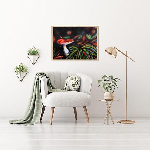 Mushroom Dance Fine Art & Canvas Prints