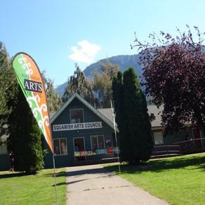 Art Show in Squamish, BC