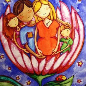 Peaceful Pregnancy – Painting