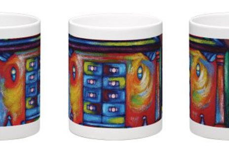 Shrine of Bahá'u'lláh Coffee Mug - 11oz Ceramic