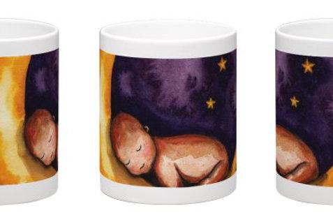 Sleep, Baby, Sleep Coffee Mug - 11oz Ceramic
