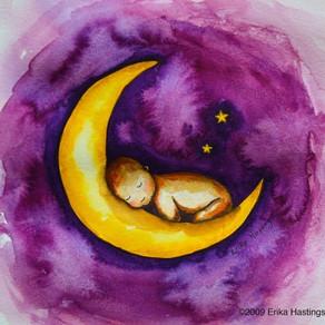 Sleep, Baby, Sleep – Painting