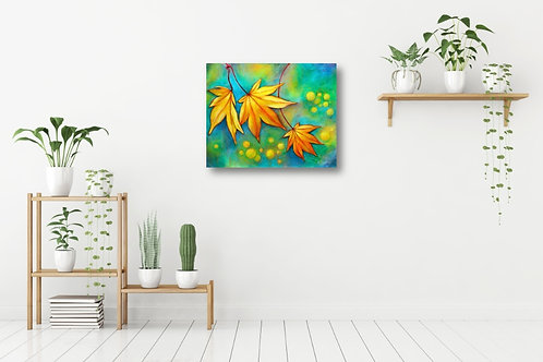 Dancing Leaves Fine Art & Canvas Prints