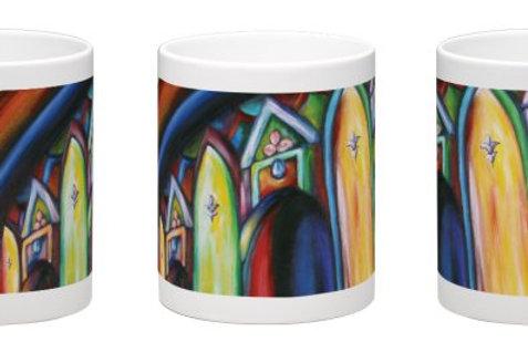 Shrine of the Báb Coffee Mug - 11oz Ceramic