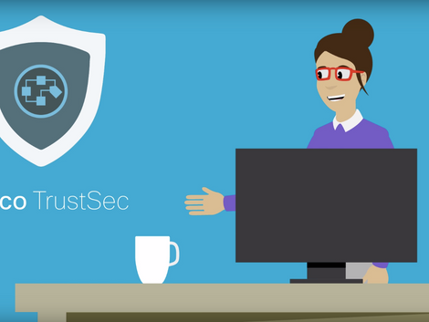Here 's a DIFFERENT approach to staying ahead of hackers with CISCO TrustSec