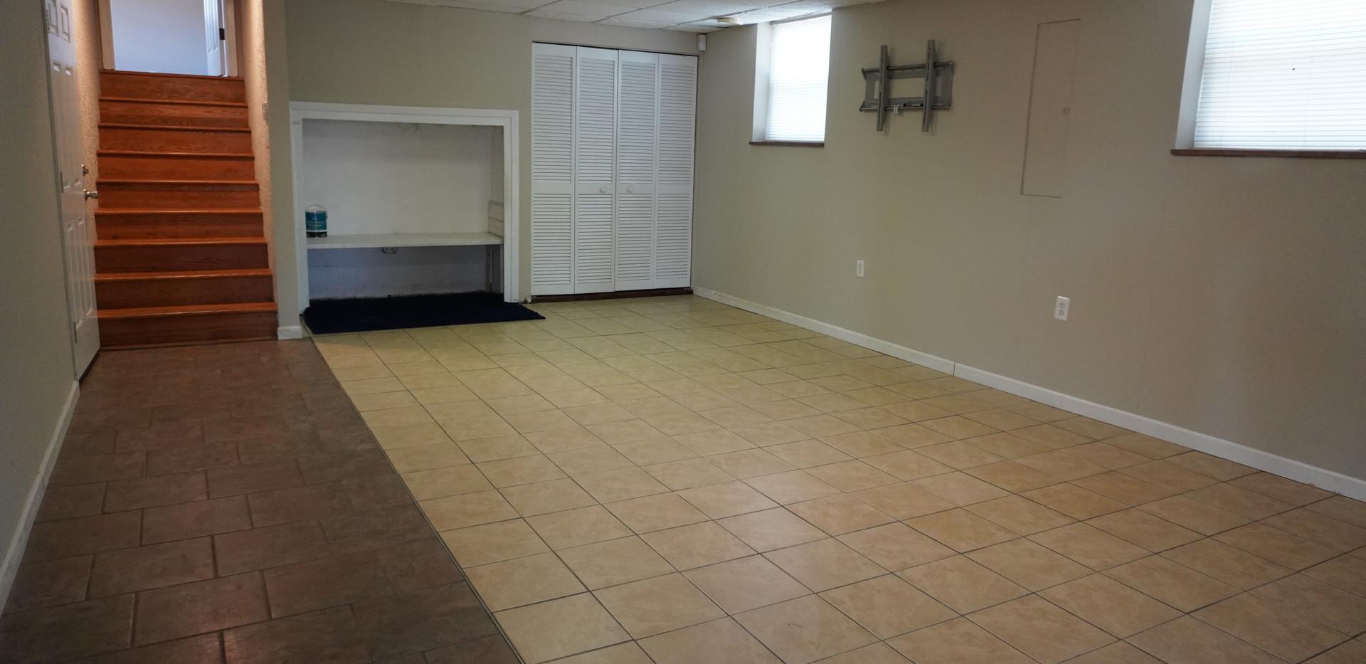 Basement Bonus Living Space