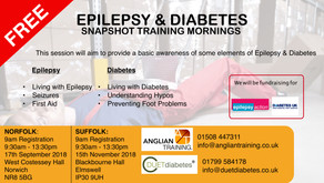 Free Epilepsy & Diabetes Snapshot sessions