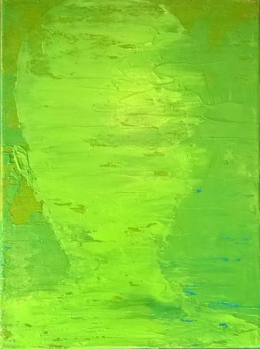 schatten hellgrün €300,-