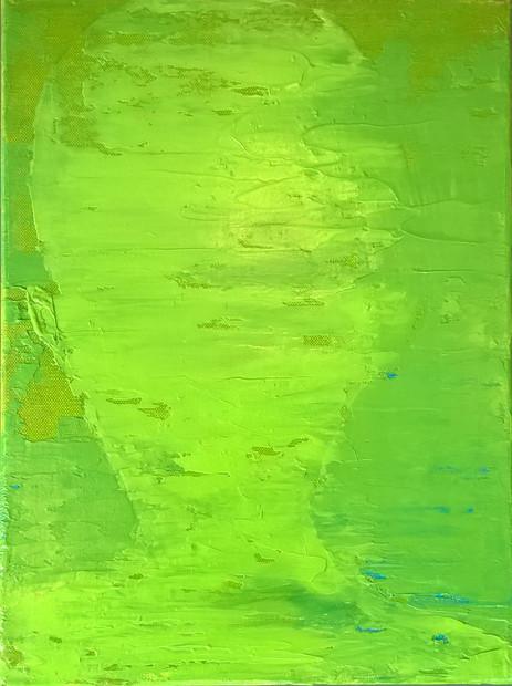 Schatten, hellgrün