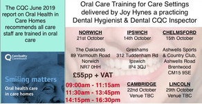 CQC Guidance on Oral Care - Training from cqc dENTAL INSPECTOR
