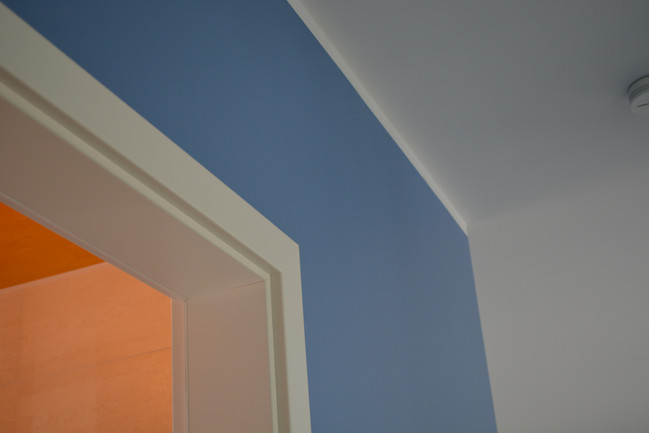 Wandgestaltung Bad Decke/Wand aussen