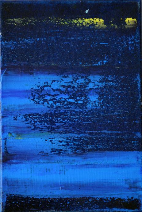 little blue-night