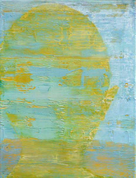 Schatten eisblau-gelb