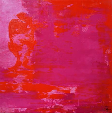 Schatten rot magenta gross