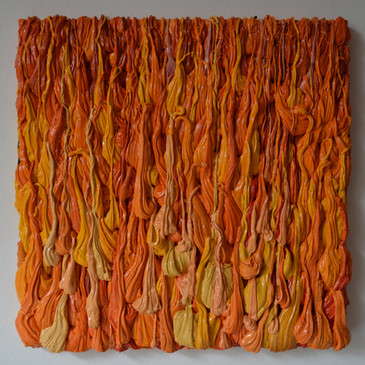 colour-drops orange  €700,-