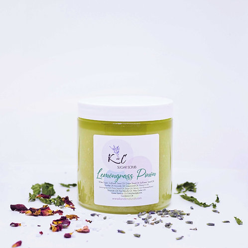 Lemongrass Pinon Sugar Scrub