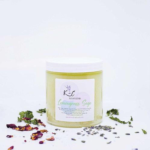 Lemongrass & Sage Sugar Scrub