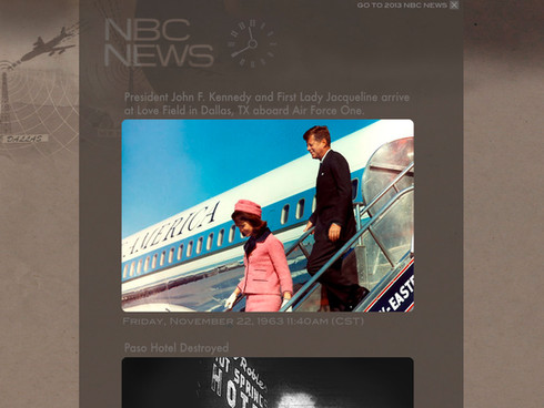 NBC NEWS JFK TAKEOVER STUNT