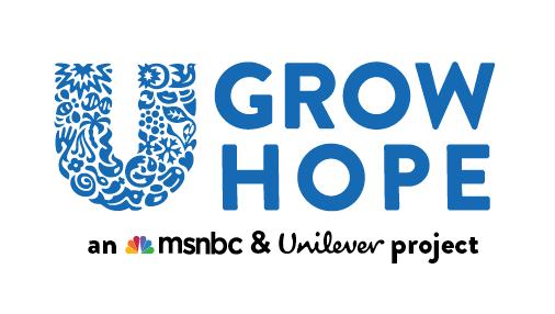 MSNBC x Unilever logo