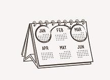 Dollar Pape Club Calendar
